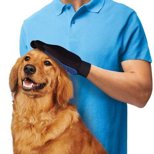 Cepillo guante pelaje pelo mascotas perros gatos cepillar