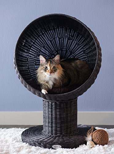 La refinado felino 's gatito bola gato cama
