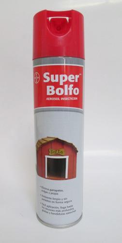 Super bolfo insecticida pulgas garrapatas