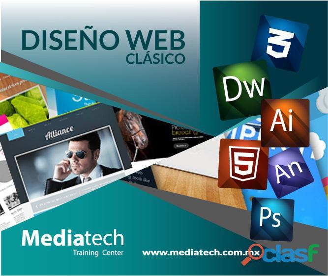 Mediatech curso de diseño web clasico