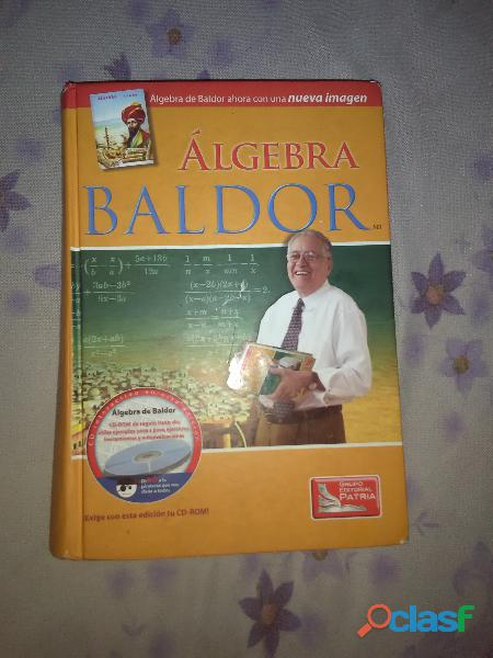 Libro de algebra baldor