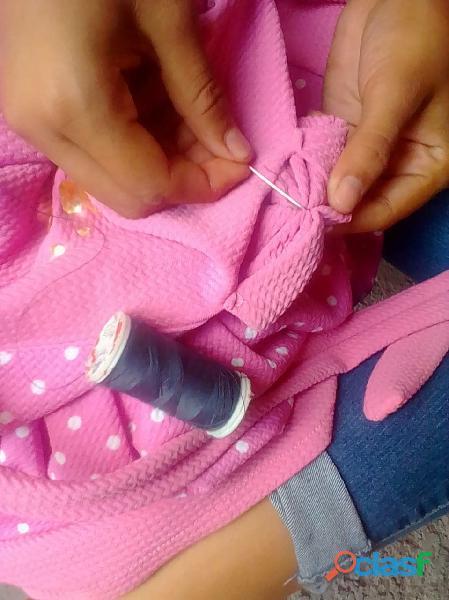 Pongo a la disposicion el servicio de costurera