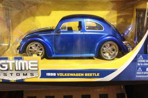 1959 volkswagen beetle escala 1:24