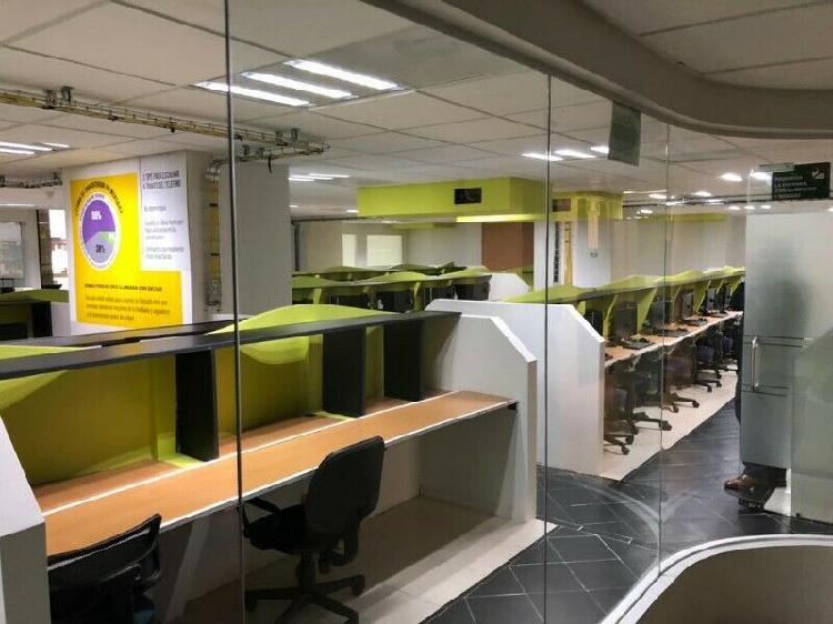 Call center equipado en renta colonia roma, desde 50 hasta