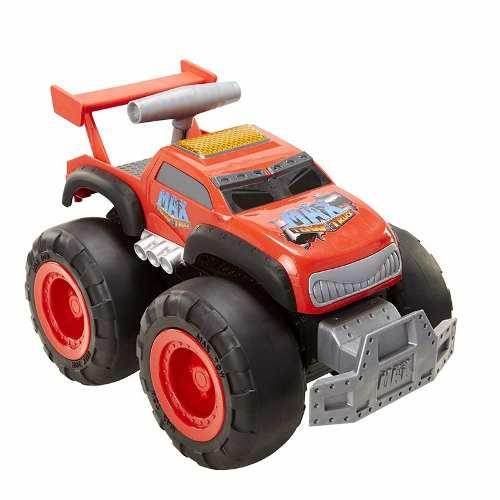 Camioneta gigante de remolque max tow truck roja muy fuerte