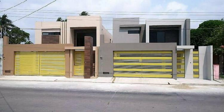 Casas nuevas muy amplias, col. ampliación unidad nacional,