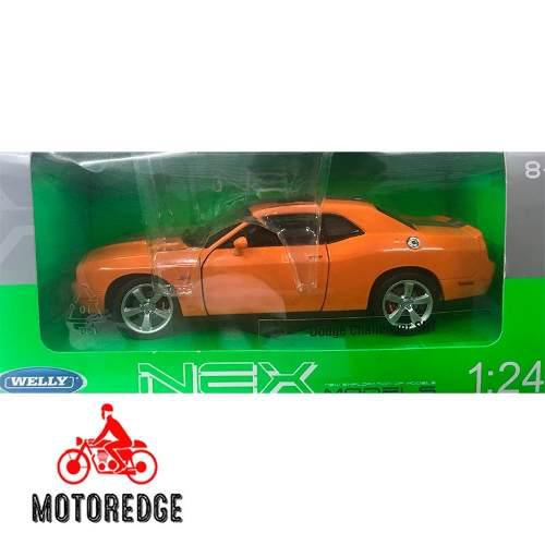 Dodge challenger srt welly escala 1/24 nuevo