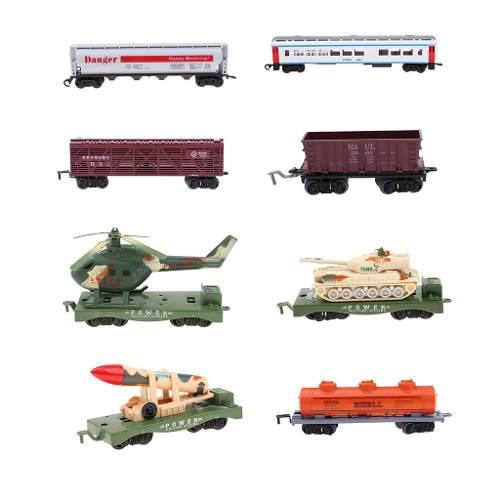 Ho, tren, carro, carga, vagón, juguete, modelo, ferrocarri