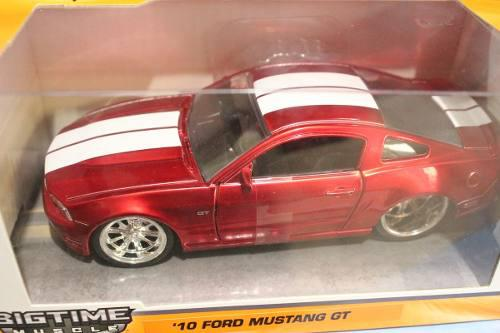 Jada big time muscle '10 ford mustang gt escala 1:32