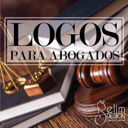 Logos abogados servicios legales profesional derecho diseño