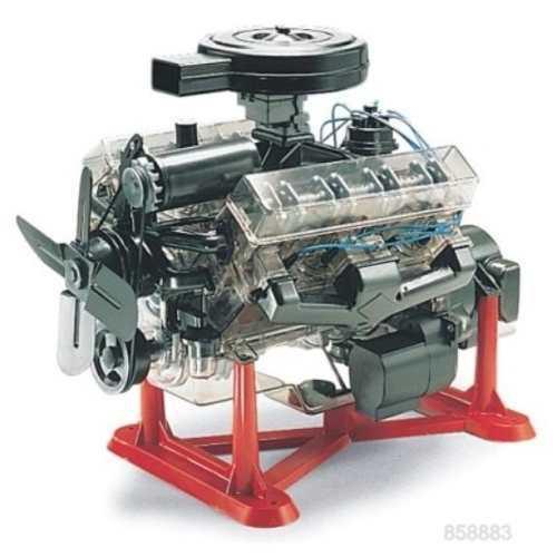 Motor v8 revell escala 1/4 para armar