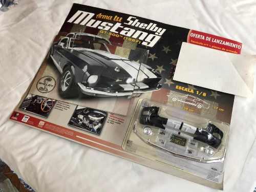 Mustang shelby 1967 fasciculo 1 para armar