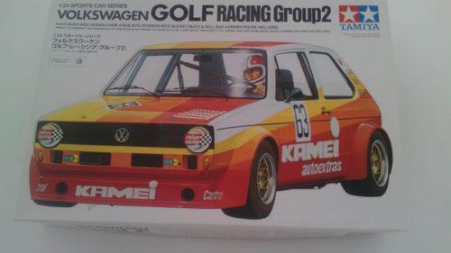 Volkswagen golf racing grup 2 tamiya 1/24
