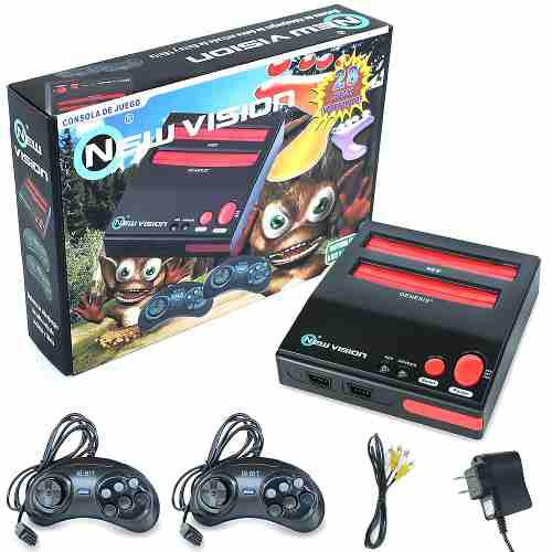 Consola nintendo nes y sega retro incluye video juegos + msi
