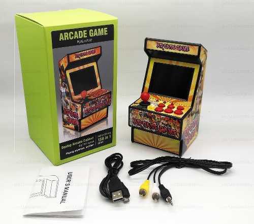 Mini maquinita 156 juegos sega mini arcade 16 bits