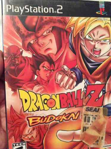 Playstation 2 Dragon Ball Z Budokai Cerrado De Fábrica