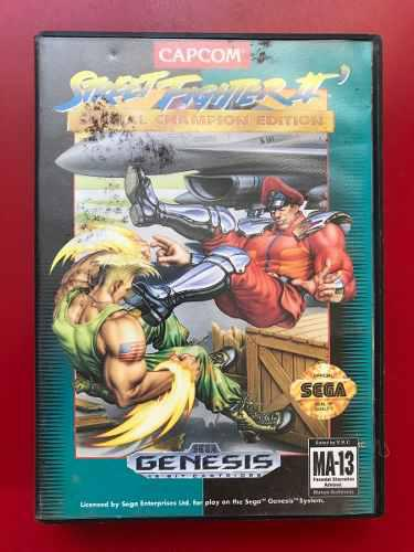 Street fighter ii champion edition sega genesis
