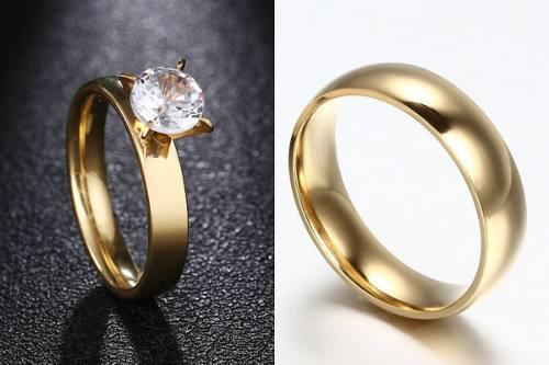 3598f88263b8 Anillos pareja compromiso 【 REBAJAS Agosto 】 | Clasf