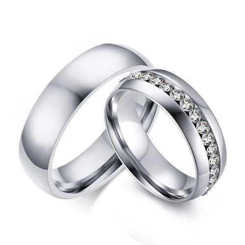 2a2188280525 Solo anillo titanio o solo anillo rey y reina o endless