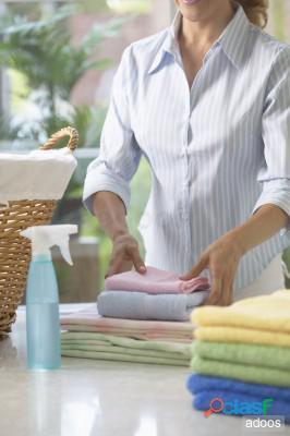 Niñera cuidadora recamarera agencia domestica servicio doméstico cocinera nana