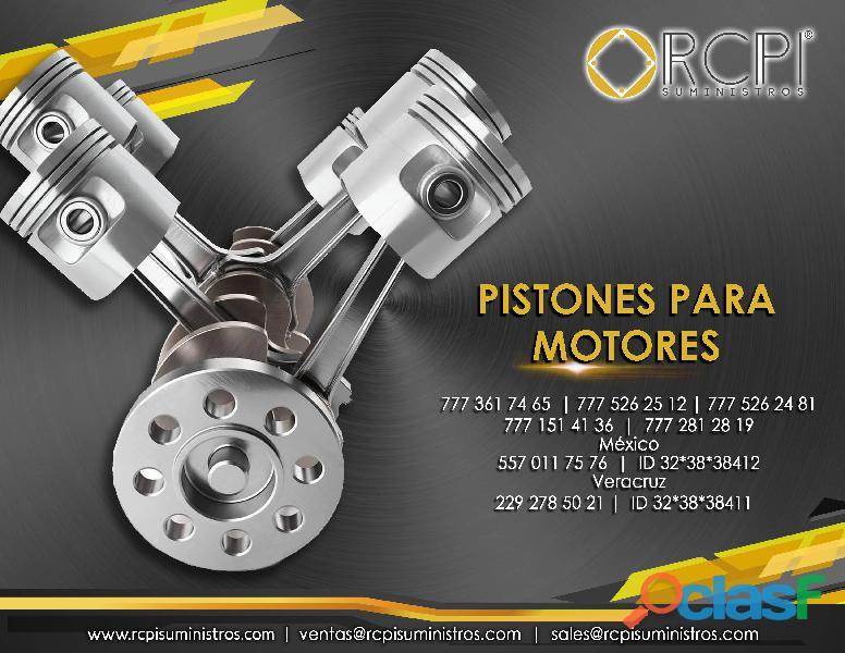 Pistones para motores industriales y marinos