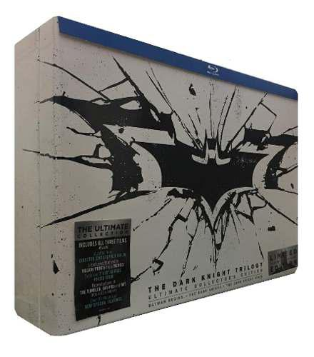 Batman the dark knight trilogy ultimate collector's blu-ray