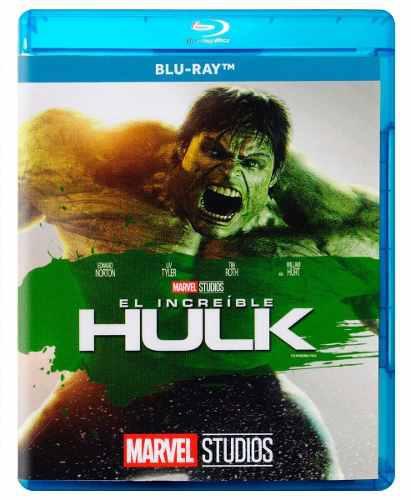 El increible hulk marvel fase 1 pelicula blu-ray