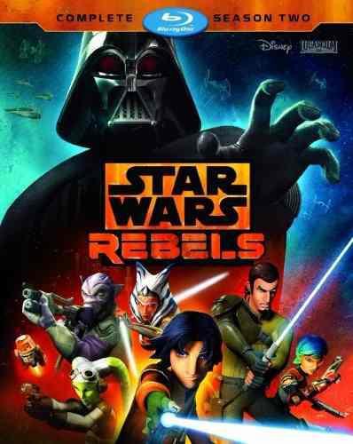 Star wars rebels temporada 2 dos importada serie blu-ray