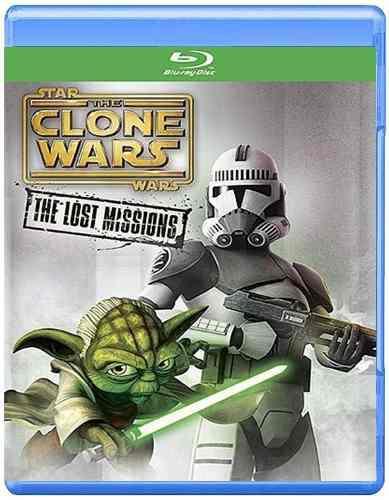 Star wars the clone wars lost missions temporada 6 blu-ray