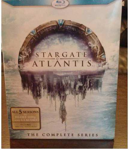 Stargate atlantis boxset 5 temporadas serie completa blu-ray