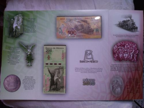 Billetes 2010 bi-centenario independencia y revolución