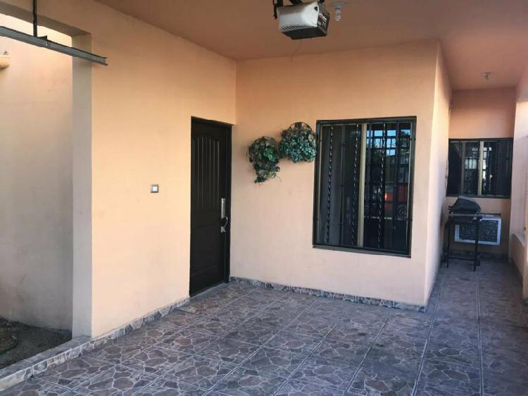 Casa en venta sur nuevo hermosillo una planta en esquina