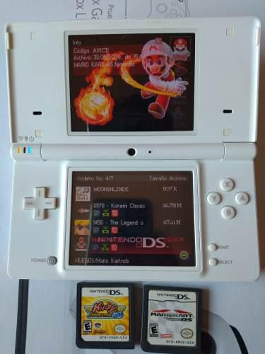 Nintendo Dsi Con Dos Juegos Y R4. Manchita En Pantalla