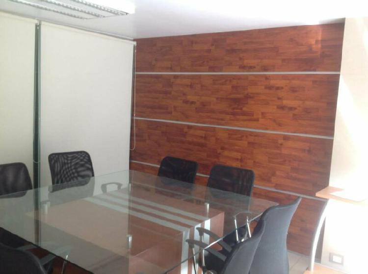 Oficina ejecutiva amueblada en colonia la paz