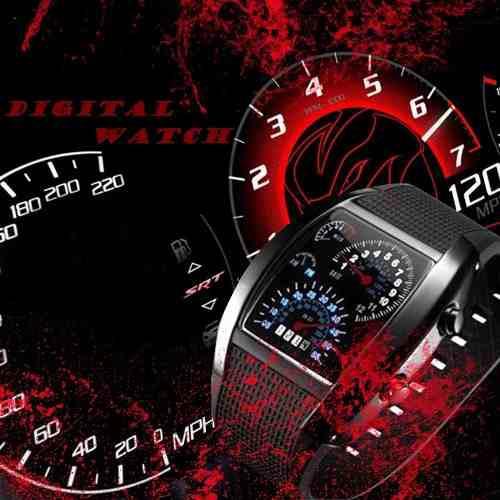 Reloj aviation rpm led