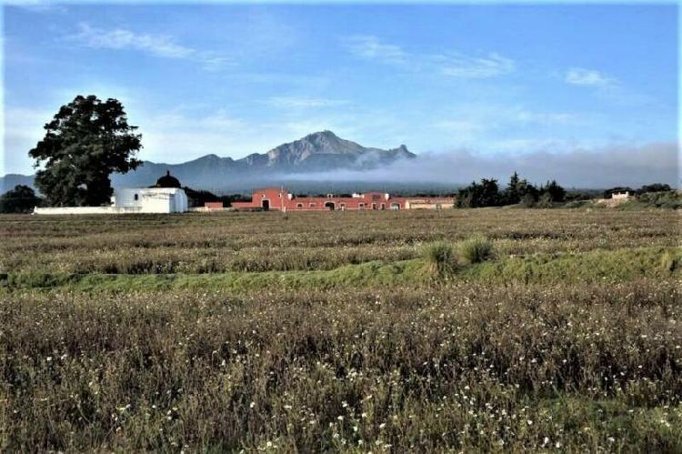 Terrenos en venta la perennia, san miguel baez, huamantla