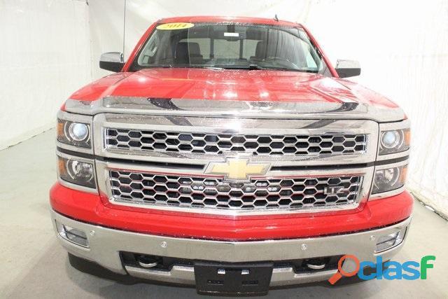 Chevrolet silverado 2014 rojo