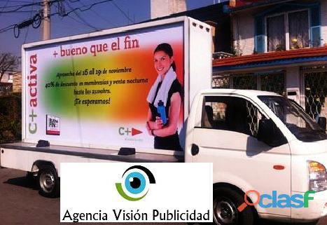 Servicios de publicidad perifoneo, volanteo, vallamovil,chihuahua