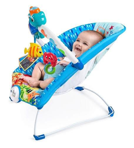 Bouncer mecedora bebe baby einstein neptune luz sonido