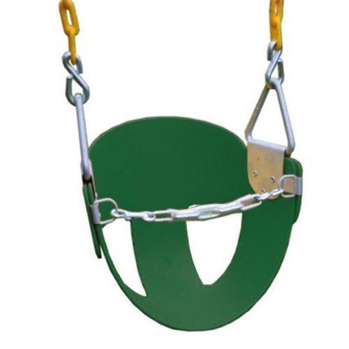 Columpio asiento para bebés con cadena cubierta con