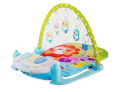 Juguete didáctico: gimnasio para bebé 5 en 1