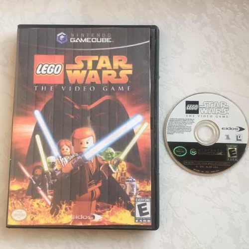 Lego star wars portada reimpresa gamecube juegazo
