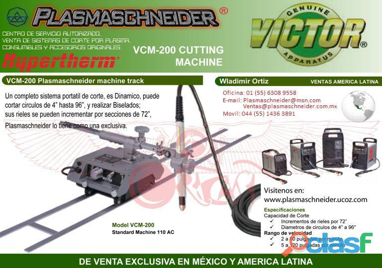 Equipo de corte por portátil vcm 200 victor genuine / plasmaschneider