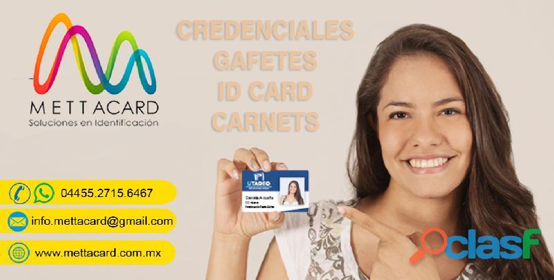 Maquila de credenciales PVC ECATEPEC