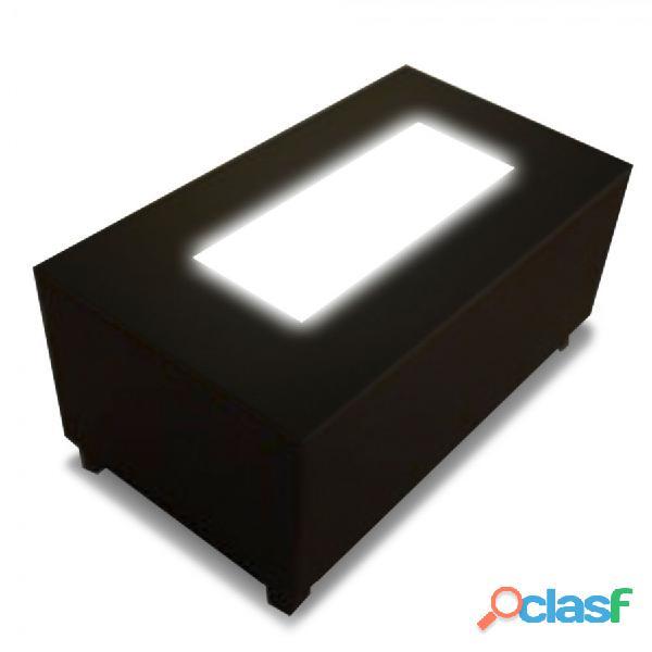 Mesa iluminada moby mesas lounge somos fabricantes mobydec