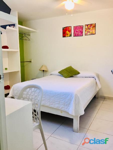 Renta de habitación cerca de viveros de coyoacan