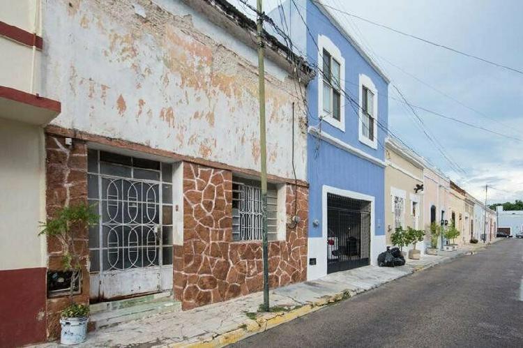 Casa colonial en venta barrio de santiago, centro de mérida