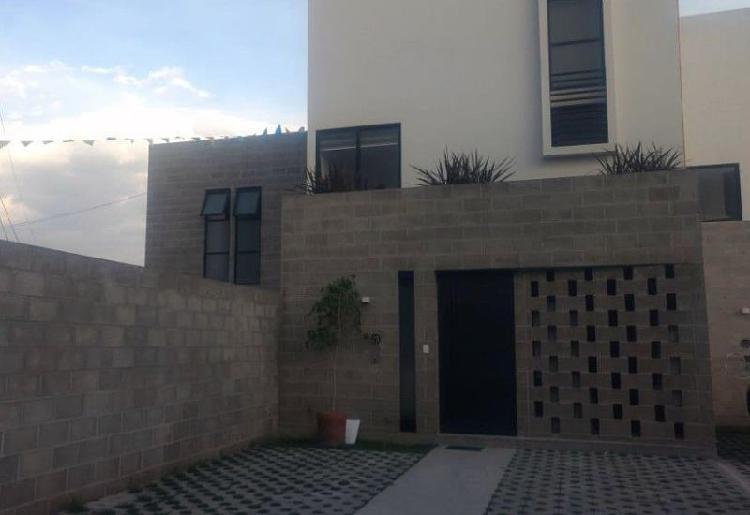 Casa nueva con 3 recamaras en venta zona de morillotla, san