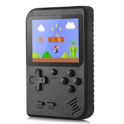 Consola juegos handheld gocomma 400 juegos clásicos
