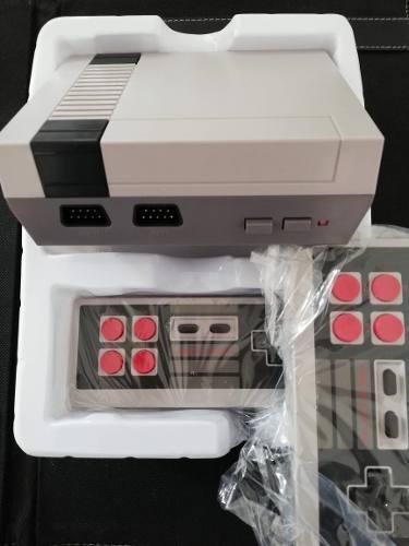 Consola videjuegos retro, 620 juegos clasicos, 2 controles